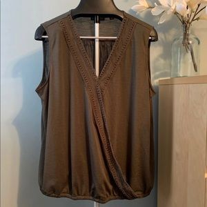 New York and Co. sleeveless blouse